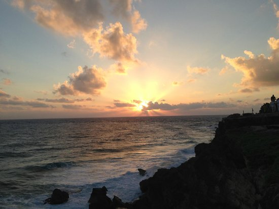 Sunrise at the furthest east point in Mexico, and a short walk from Villas Punta Sur