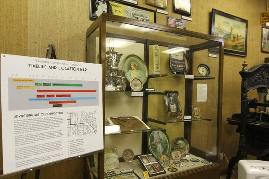 Johnson-Humrickhouse Museum: Coshocton was the Birthplace of Advertising Art