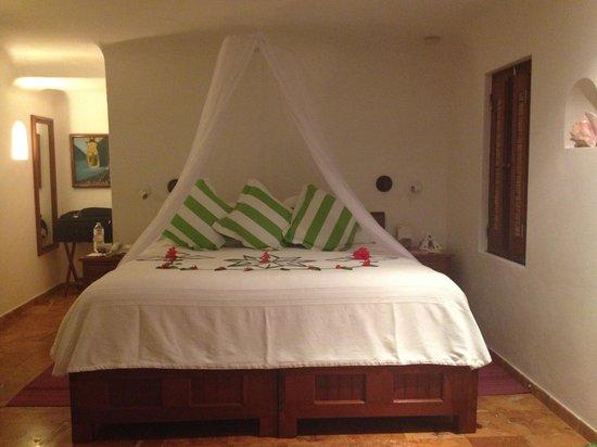 Belmond Maroma Resort & Spa : Nossa cama na chegada