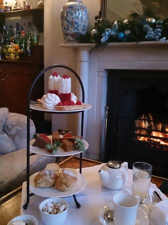 The Mount Somerset Hotel: By the fire!