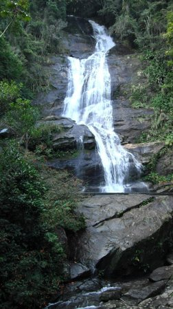 Tijuca National Park : Waterfall near the main entrance