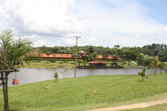 Recanto Alvorada Eco Resort: Vista do Lago