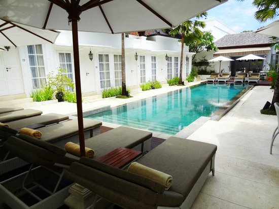 The Colony Hotel Bali : Pool area