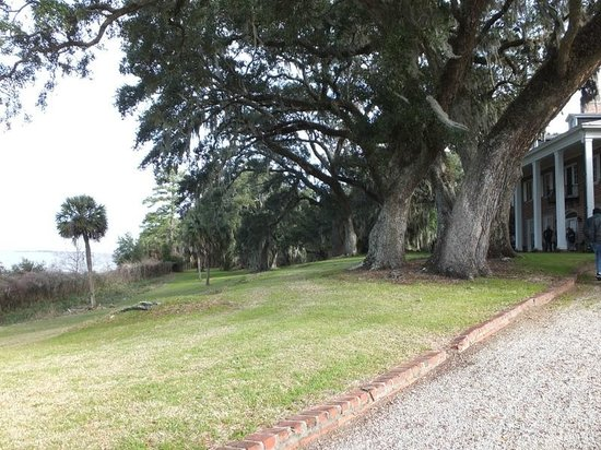 Hobcaw Barony Visitors Center: The Baruch house