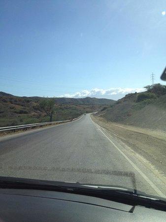 Desert road, halfway to Casa Bonita, in between Bani and Azua