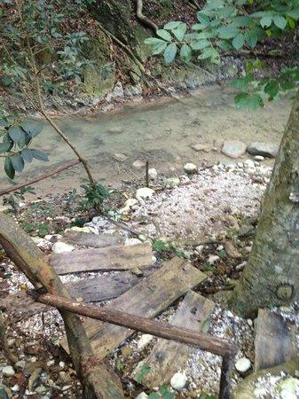 Casa Bonita: River at the spa