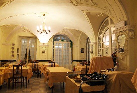 Hotel Mediterraneo : Albergo Mediterraneo dining room