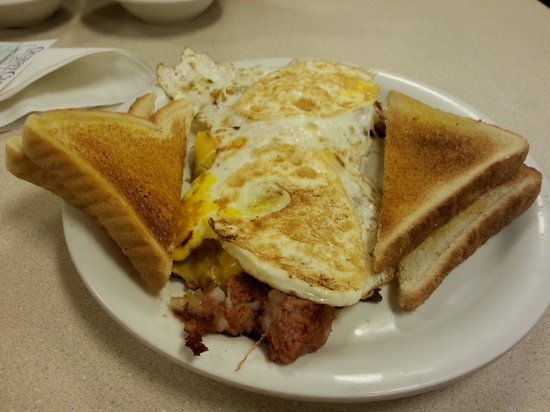 Mike's Diner: Larger portions