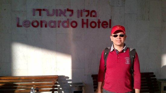Leonardo Hotel Tiberias : Próximo à entrada