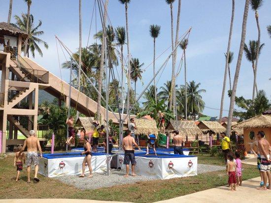 Coco Splash Adventure & WaterPark: Trampoline