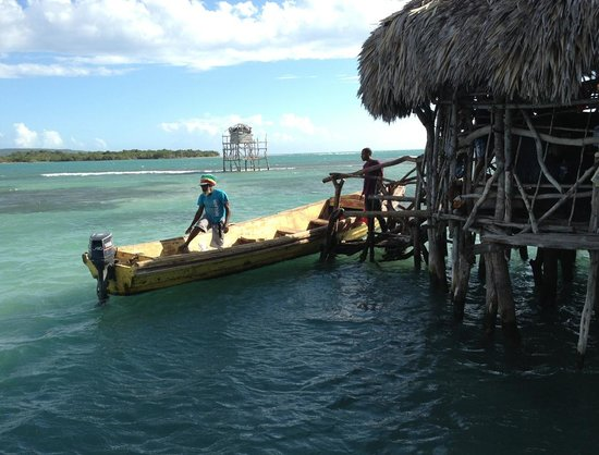 Taino Cove: Boat to Pelican Bar
