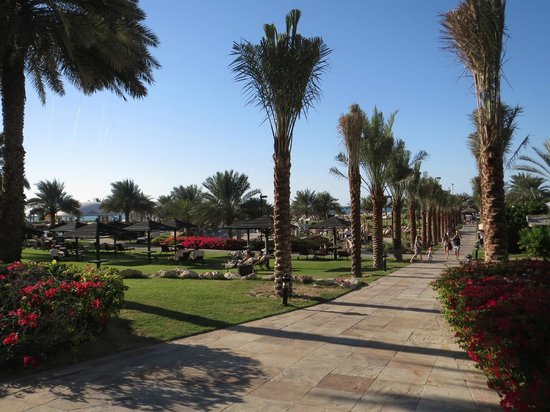 Le Royal Meridien Beach Resort & Spa: Hotel Grounds