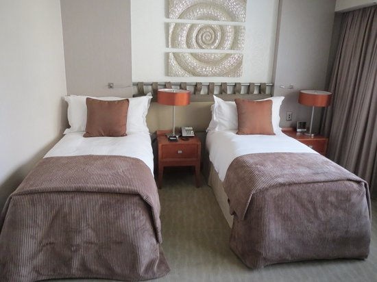 InterContinental Johannesburg Sandton Towers: Twin beds