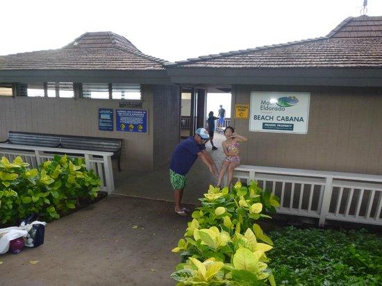 Maui Eldorado: ビーチカバナ