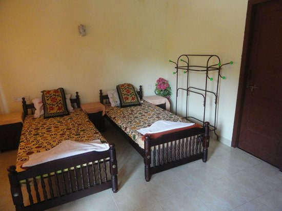 Ripples N Rocks Homestay: Twin deluxe river facing double Room