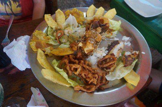 Punta Sur: Food