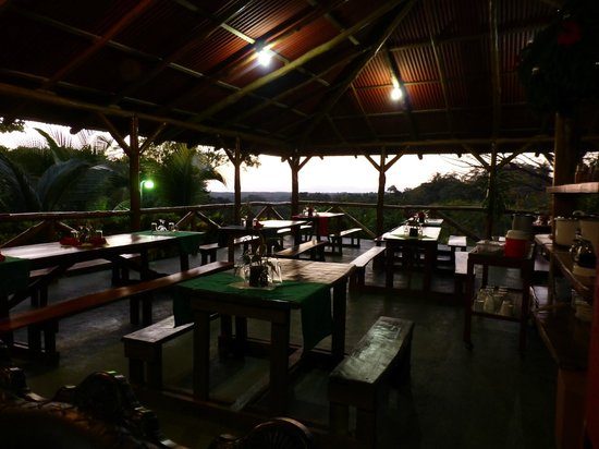 Hotel Cerro Lodge : Dining area