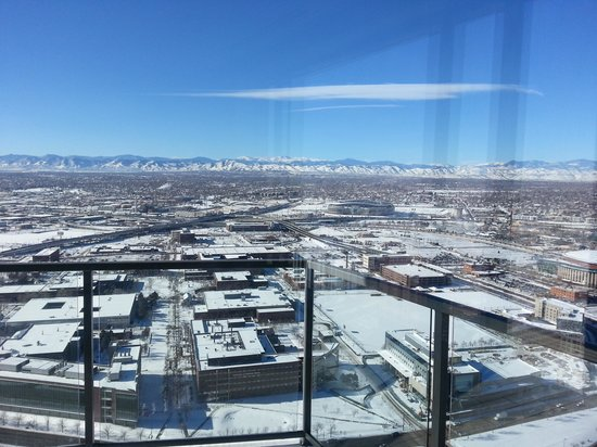 Four Seasons Hotel Denver: Facing the mountains!