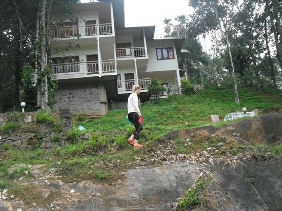 Ripples N Rocks Homestay : Ida the solo Female traveler and Yoga practitioner  at Ripplesnrocks