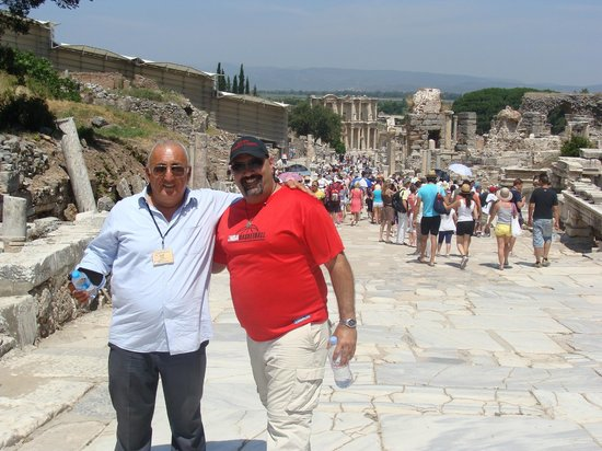 Ephesus Travel Guide - Private Ephesus Tours: Semi (our Guide), Left and Nelson