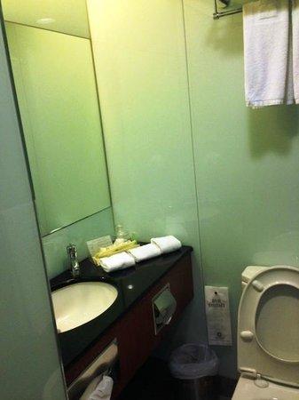 B P International: Wash Area