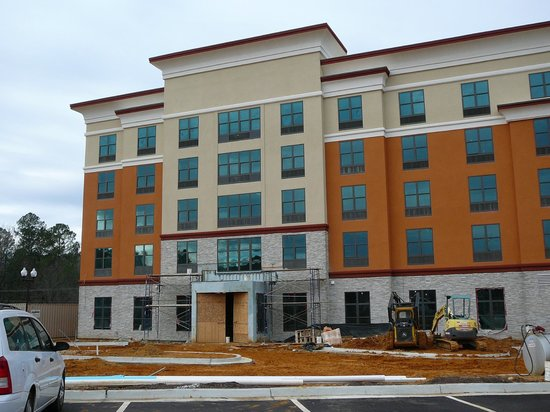 Candlewood Suites Tupelo North: New Holiday Inn going in next to Candlewood - Tupelo