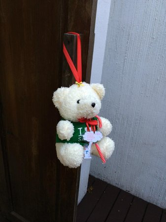 Mimosa Resort & Spa: christmas gift left on our door