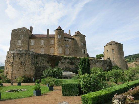 Berze le Chatel : chateau-de-berze
