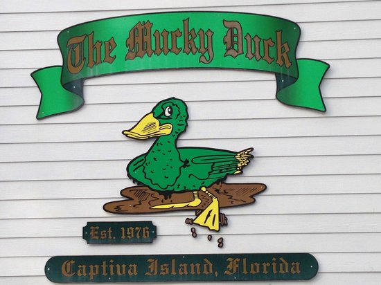 The Mucky Duck: Welcome sign