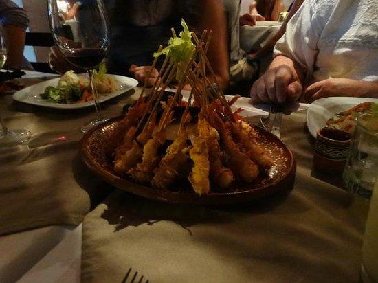Tierra Viva : Coconut Shrimp - Yum!