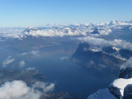 Mount Pilatus : Lake View