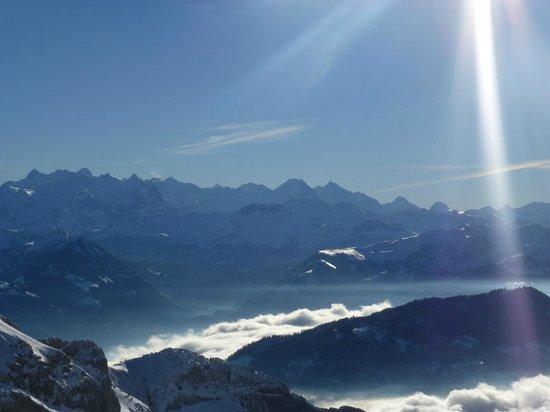 Mount Pilatus : Above the Clouds