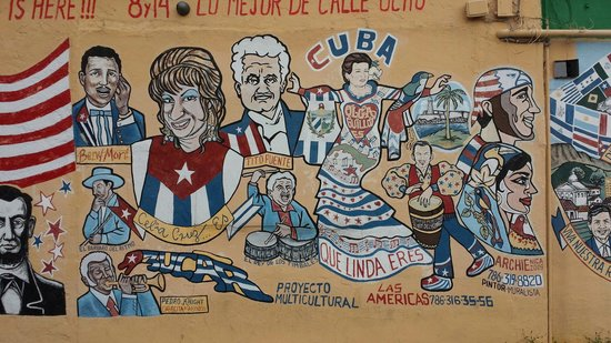 Little Havana : Cuban artist mural