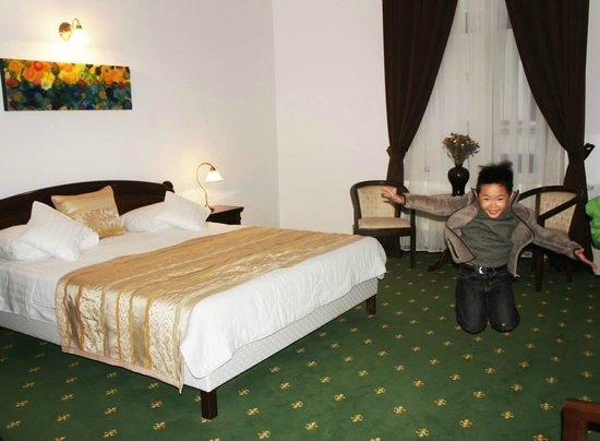 La Maison de Caroline: my boy jumping in spacious room