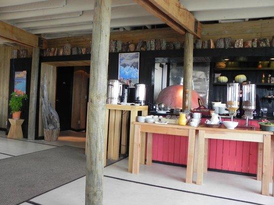 Noi Indigo Patagonia: Sector del del restorante