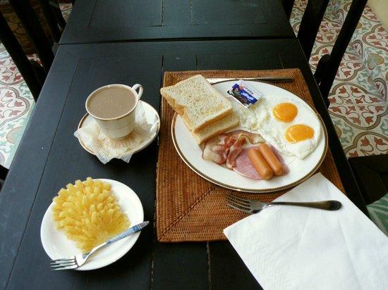 Khaolak Boutique Heritage Hotel: Ваш каждодневный завтрак