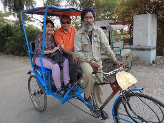 Keoladeo National Park : Rickshaw ride through the sanctuary
