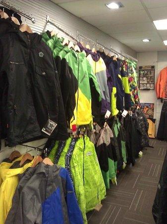 TCB Ski Board and Bike : Mens winter outerwear.