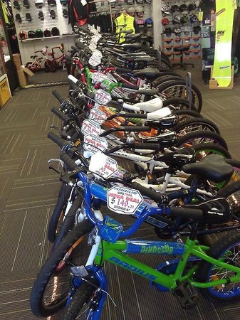 TCB Ski Board and Bike: Bike retail