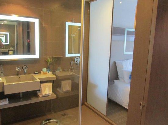 Novotel Bangkok Ploenchit Sukhumvit: shower
