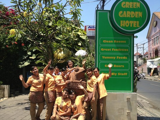 Welcome from our Spa team - Picture of Green Garden Spa, Kuta ...