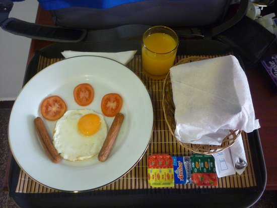 Alfred Court Accommodation: My Breakfast