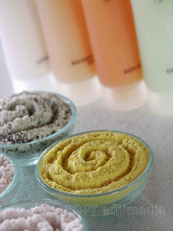 Green Garden Spa: Natural Scrub Ingredients