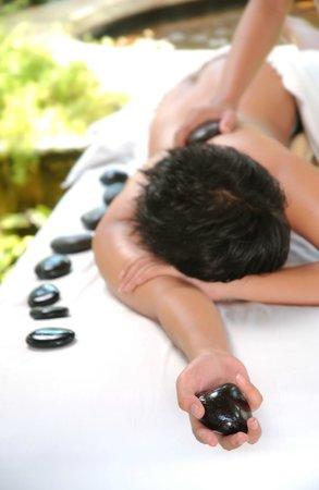Green Garden Spa: Hot Stone Massage