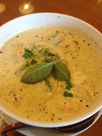 Monsoon Noodle House: Thai Coconut Soup