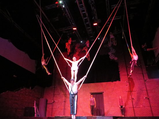 AntiGravity Orlando: Bungee from their Christmas show