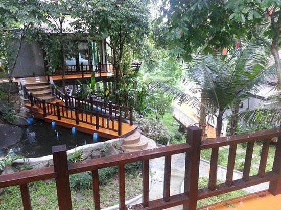 Songkhla Keeree Resort: View from a centrally located room