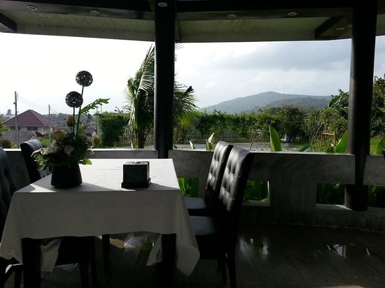 Songkhla Keeree Resort: View from restaurant in the morning