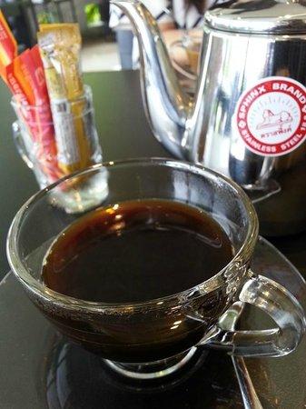 Songkhla Keeree Resort: Breakfast coffee