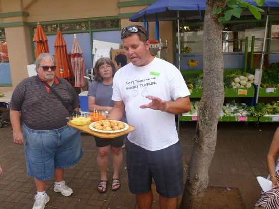 Hawaii Food Tours: Greg, the tour leader